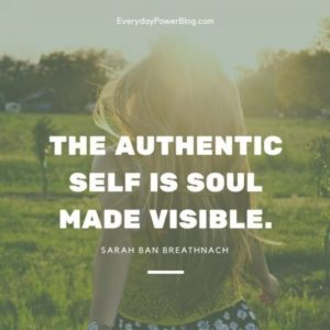 Our True Authentic Self